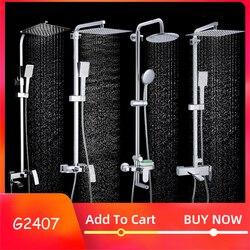 GAPPO набор душевых смесителей для ванной комнаты, смеситель для душа, смеситель для ванной, смеситель для душа, смеситель для душа с водопадом...