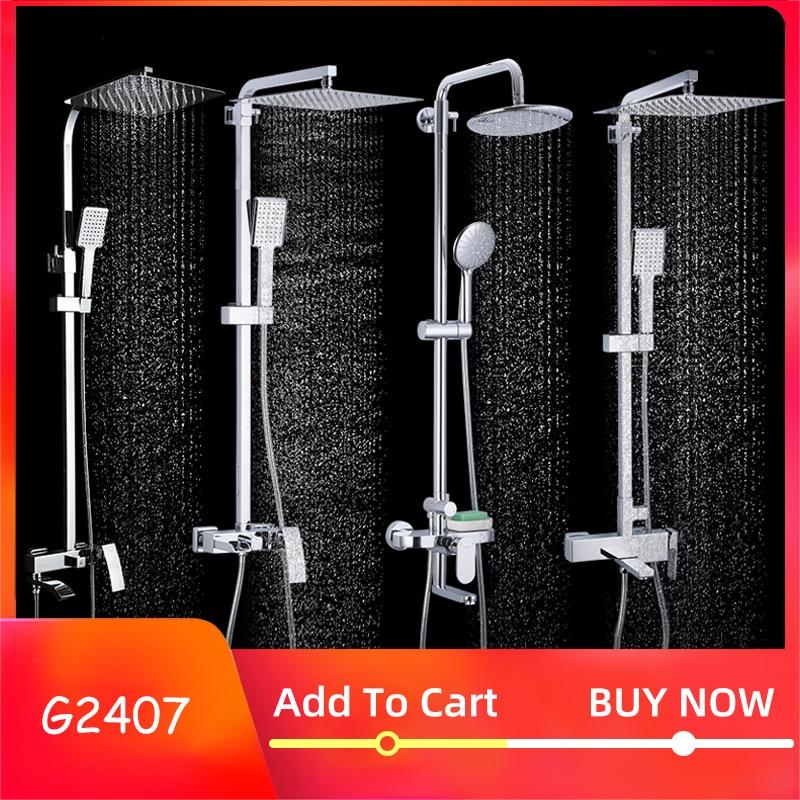 GAPPO Badezimmer Dusche Wasserhahn Set Badewanne Armaturen Dusche Mischbatterie Bad Dusche Tap Wasserfall Dusche Kopf Mixer Torneira
