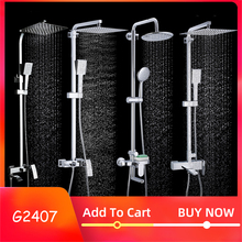 GAPPO bathroom shower faucet set bathtub faucets shower mixer tap Bath Shower tap waterfall shower head mixer torneira