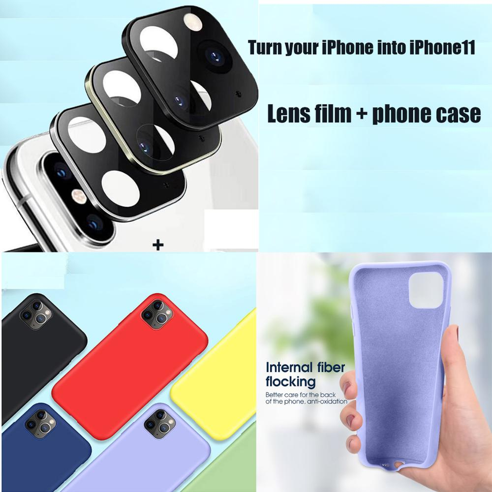 For IPhone Apple X Seconds Change 11 Lens Sticker Xs Max Modified 11 Pro Max Explosion Modified Case Lens 11 Pro Max Camera