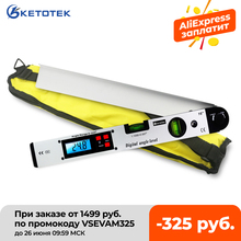 Digital Goniometer Electronic Protractor 225 degree Inclinometer Angle Ruler 400mm Bubble Level Measuring construction Level