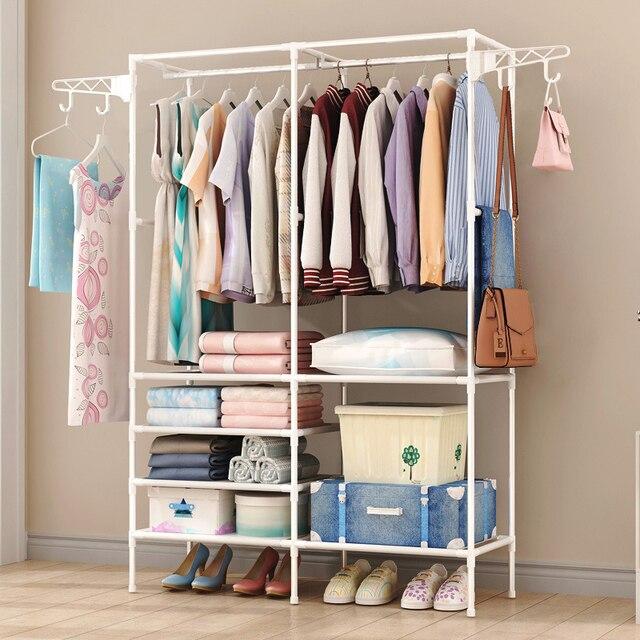 Coat Rack Closet Floor Shelf 2
