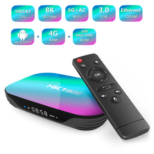 HK1 BOX 8K S905X3 4GB RAM 64GB TV Box Android 9.0 Set Top Box 1000M Dual Wifi 4K Youtube Netflix Smart TV Box 4G 32G цена и фото
