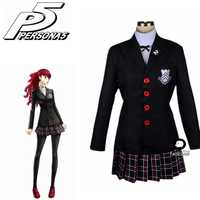 2019 neue Persona 5 kasumi yoshizawa Schuluniform Cosplay Kostüm Nach Maß