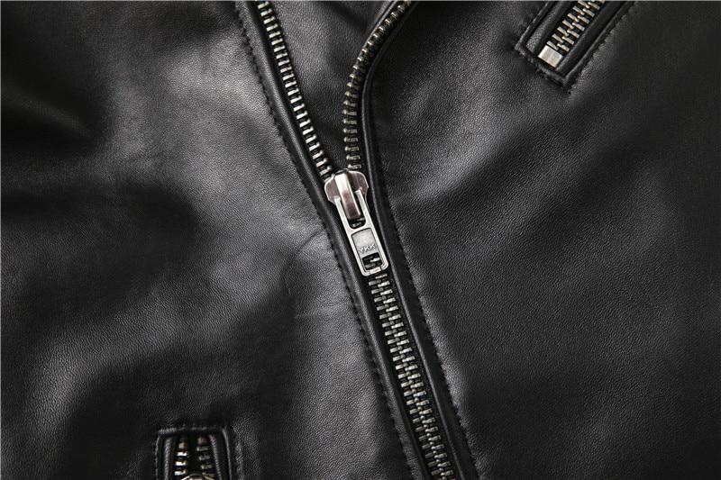 Hf012c1eb3b8741dfb92cb46031596e33j Free shipping,Sales!Brand new genuine leather jacket.mens motor biker sheepskin coat.slim plus size jackets.leather outwear