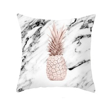 Nordic Cushion Tropic Pineapple Throw Pillow  Polyester Cushion Case Sofa Bed Decorative Pillow