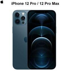 Подлинный оригинальный Apple iPhone 12 Pro/Redmi Pro Max 5G 6,1/6,7 дюймсупер дисплеем Retina A14 бионические приманки для рыбной ловли IOS 14 смартфон