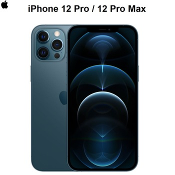 "Authentic Original New Apple iPhone 12 Pro/ Pro Max 5G 6.1/6.7"" Super Retina Display A14 Bionic IOS 14 Smartphone"