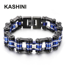 Rock Friendship Charm Bangles Motorcycle Chain Men Bracelet Punk Jewelry  Bicycle Bike Gift Stainless