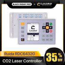 Clouday Ruida RDC6432 CO2 Laser Điều Khiển Hệ Thống Chữ Khắc Laser Cắt Thay Thế AWC708S Ruida 6442 Ruida Leetro