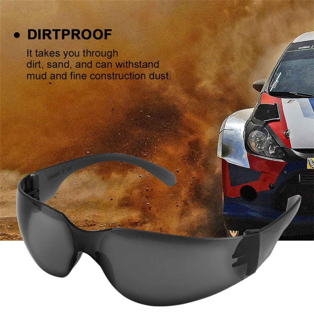 Safety Goggles Glasses Economy Clear Lens Eye Protection Labor Glasses Sand-proof Striking Glasses Anti Chemical Splash Goggle