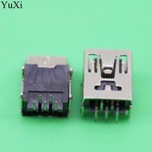 Yuxi 10 шт мини usb Тип b 5 контактный гнездовой разъем прямоугольный