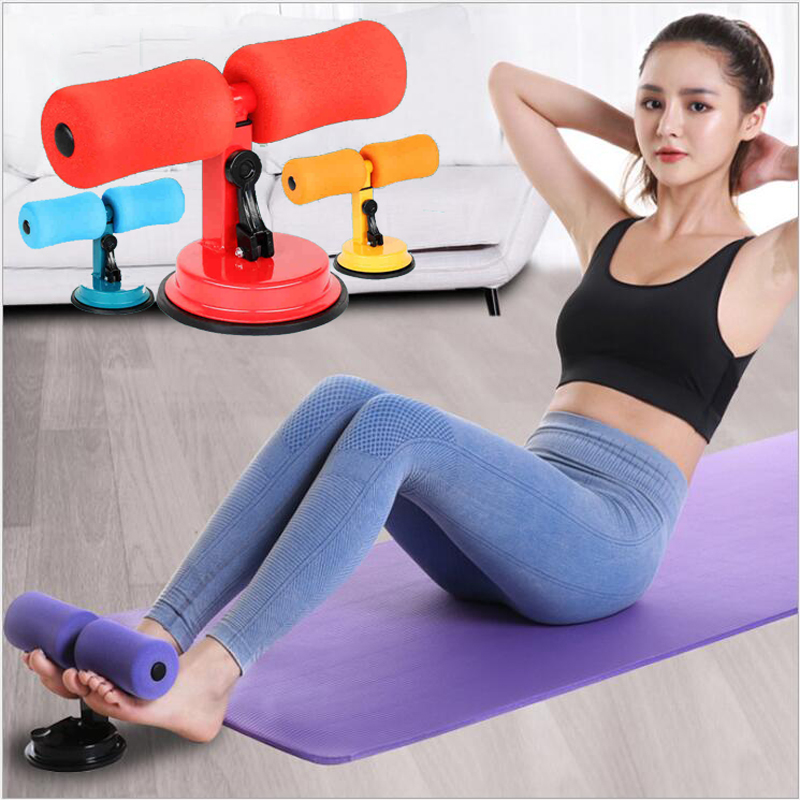 Gym Workout Abdominal Curl Exercise Sit-ups Assistant Device Ab Rollers Vest Line Weight Loss Belly Fitness Equipment Portable image