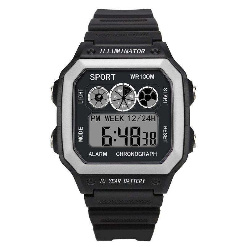 Digital Watches Military Multifunction Men Relogio Masculino LED Sport Hombre