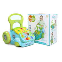 Walker for Baby Toddler Learning  Walk Music Toys 3-18 Months Children's Anti-rollover Trails Adjust The Height In The Two Gear