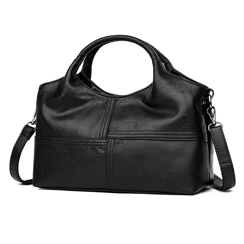 AUAU-Fashion Patchwork Shoulder Cross Body Bags Ladies Leather Women Bags Women's PU Leather Handbags
