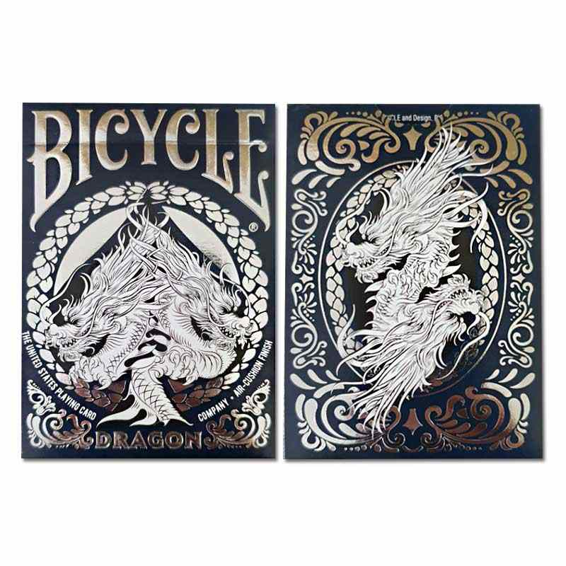 1 deck Bicycle Cards Dragon Playing Cards Regular Bicycle Deck Rider Back Card Magic Trick Magic Props