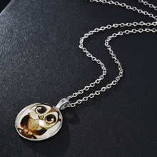 Fashion Women Cute Owl Pendant Choker Necklace For Women Accessories Jewelry Long Chain Sweater Necklace