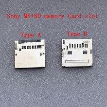 أ أو ب ؟ 5 قطعة MS + SD ذاكرة مزدوجة فتحة للبطاقات قطع غيار سوني HX50 HX50 HX300 NEX6 NEX7 NEX5R NEX5T A7 A7S A7II A5000 A5100 كاميرا