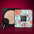 BB Air Cushion Foundation Mushroom Head CC Cream Concealer Whitening Makeup Cosmetic Waterproof Brighten Face Base Tone