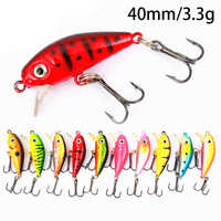 Fishing Lures Minnow Fishing Lures 3D Eyes Floating Isca Artificial Topwater Lake Bass Floating Carp Fishing Bass Fishing Bait