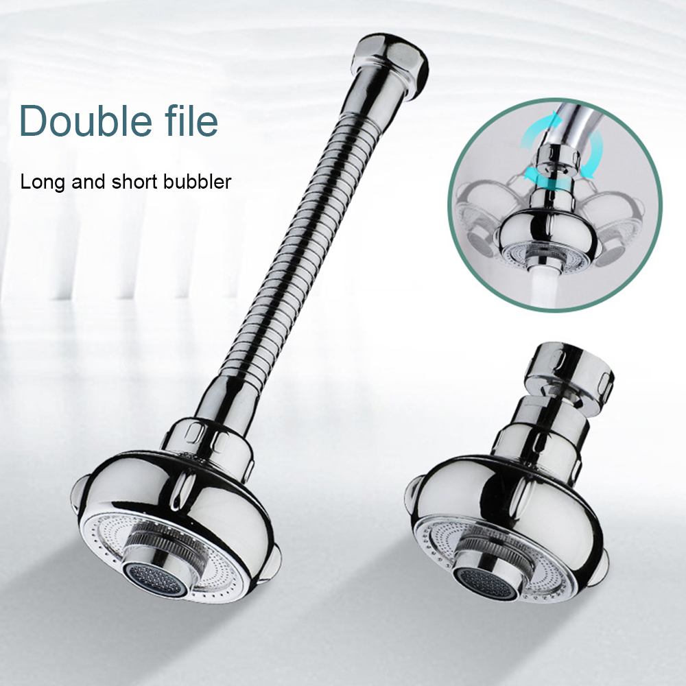 Kitchen Faucet Shower 360 Adjusting Tap Rotate Water Saving Shower Head Kitchen Fixtures Faucet Filtered For Faucet Accessories