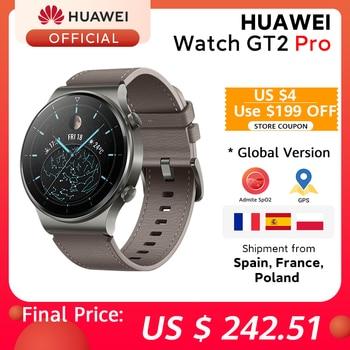 In stock Global Version HUAWEI Watch GT 2 pro SmartWatch 14 days Battery Life GPS Wireless Charging  Kirin A1 GT2 Pro