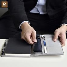 المنزل الذكي Kaco نوبل كشكول ورقي بولي Leather الجلود فتحة للبطاقات محفظة كتاب للسفر مكتب مع هدية