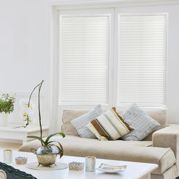 Self-Adhesive Pleated Blinds 1