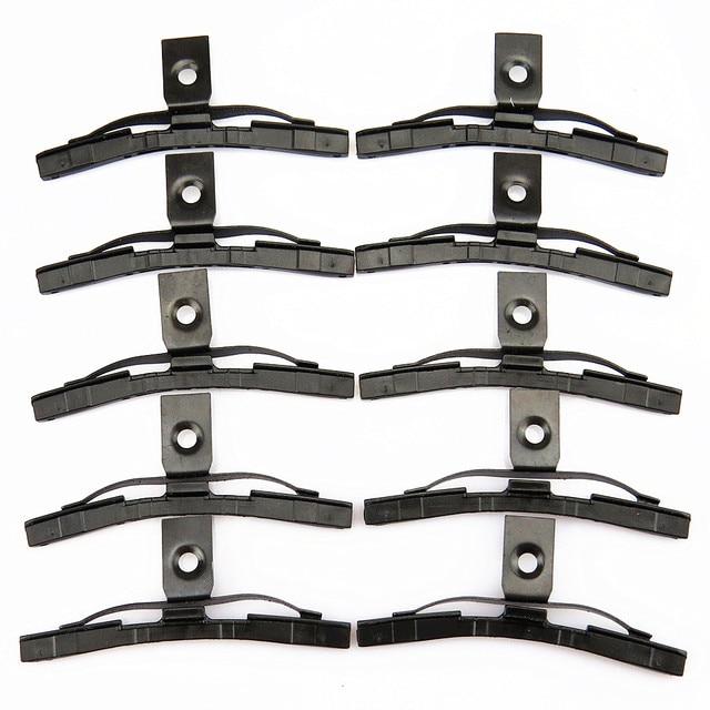 SCJYRXS 10 Pcs Sunroof Shading Cover Bracket Clips Slider For Golf MK4 MK5 MK6 Passat B5 B6 B7 Rabbit 4B0877165 4B0 877 165