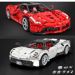 DHL в наличии победитель 7050 2209 шт. 7051 2461 шт Мпц RC супер спортивный автомобиль с мотором конструкторных блоков, Детские кубики, игрушки для дете...