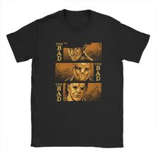 The Bad Friday 13th Michael Myers Texas Chainsaw Massacre Horror T Shirts Mans Big Size Clothe T-Shirts Pure Cotton Tee