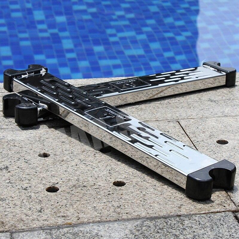 Piscina pedal escada acessórios ferramentas durável equipamentos