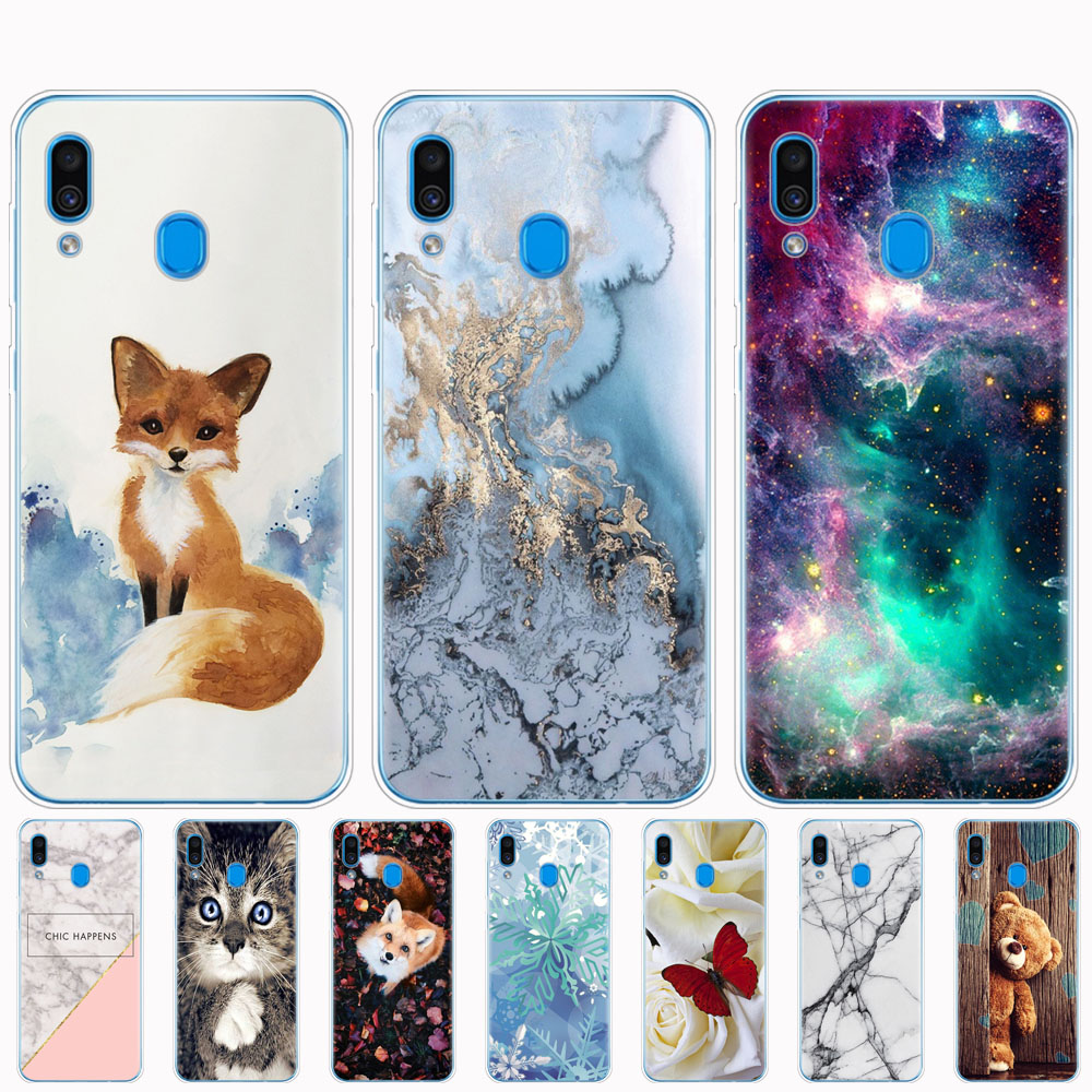 Case For <font><b>Samsung</b></font> <font><b>Galaxy</b></font> <font><b>A20</b></font> Case cover Silicone coque Bumper For <font><b>Samsung</b></font> <font><b>A20</b></font> A 20 2019 A205F A205 SM-A205F Cover Soft Fundas image