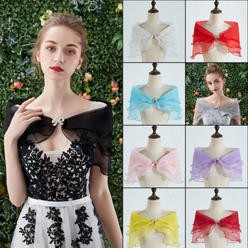 цена Short Wedding Dress Cape Black Red Cape White bolero Lace Cape bridal bolero Wedding shawl онлайн в 2017 году