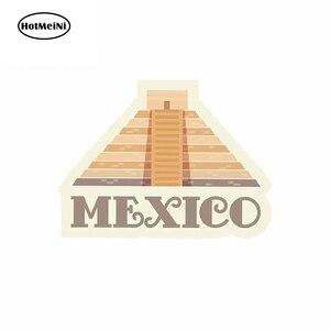 HotMeiNi 13 см x 9,6 см для Мексики Chichen Itza забавные виниловые наклейки на машину грузовик RV фургон 3D JDM автомобильные аксессуары Аниме комиксы