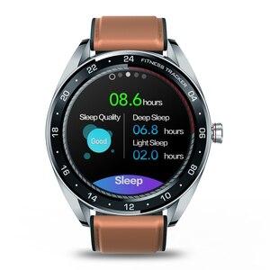 """Image 3 - Zeblaze reloj inteligente NEO para hombre, dispositivo de pulsera con pantalla IPS de 1,3 """", control del ritmo cardíaco y de la presión sanguínea, cronómetro y cámara remota"""