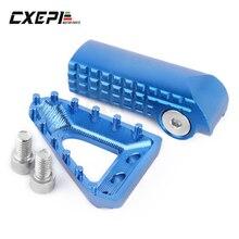Fren pedalı adım plakası vites kolu kolu İpucu KTM 125 250 350 450 500 SX SXF EXC EXCF XC XCF XCW Husqvarna TE FE TC FC FX FS