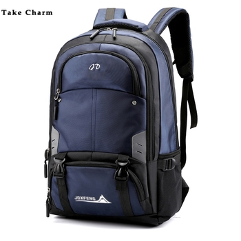 Men Backpack New Large Capacity Oxford Cloth Waterproof Male Travel Backpack Casual Outdoor Mountaineering Bag youth Sports Bag new unisex oxford cloth backpack casual travel student backpack tote shoulder bag large capacity computer bag xz 205