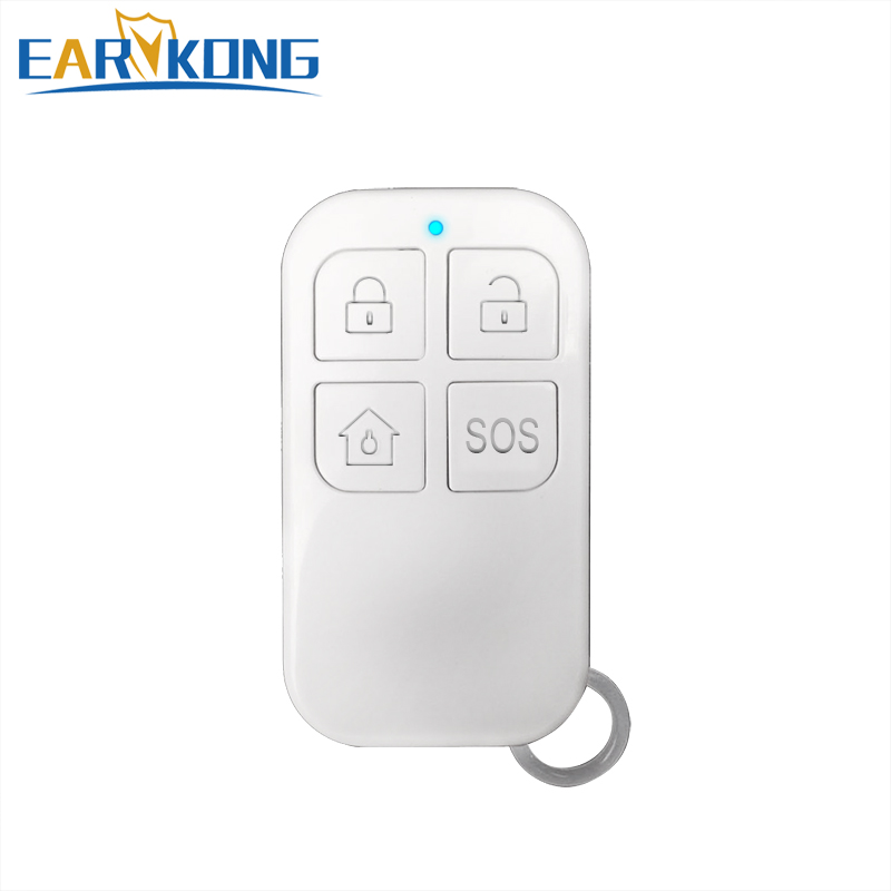433MHz Wireless Remote Controller Big Button For G4 / PG-103 / W2B / W123 Wifi Alarm System Home Burglar Alarm System
