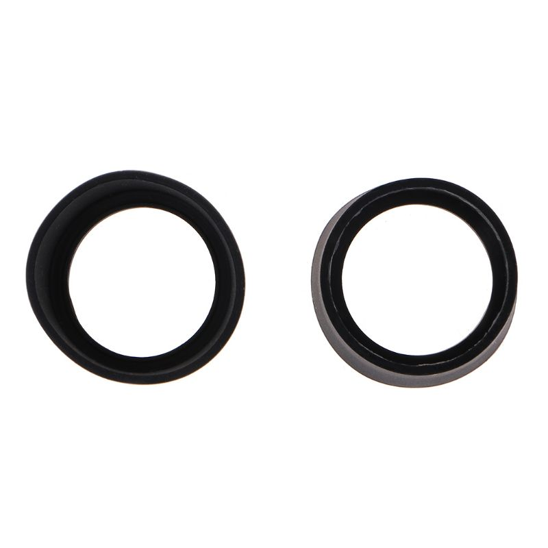 2pcs Soft Rubber Eyepiece Eye Shield 29-30mm Eye Guards Cups Eyepiece Covers For Binocular Microscope 35ED