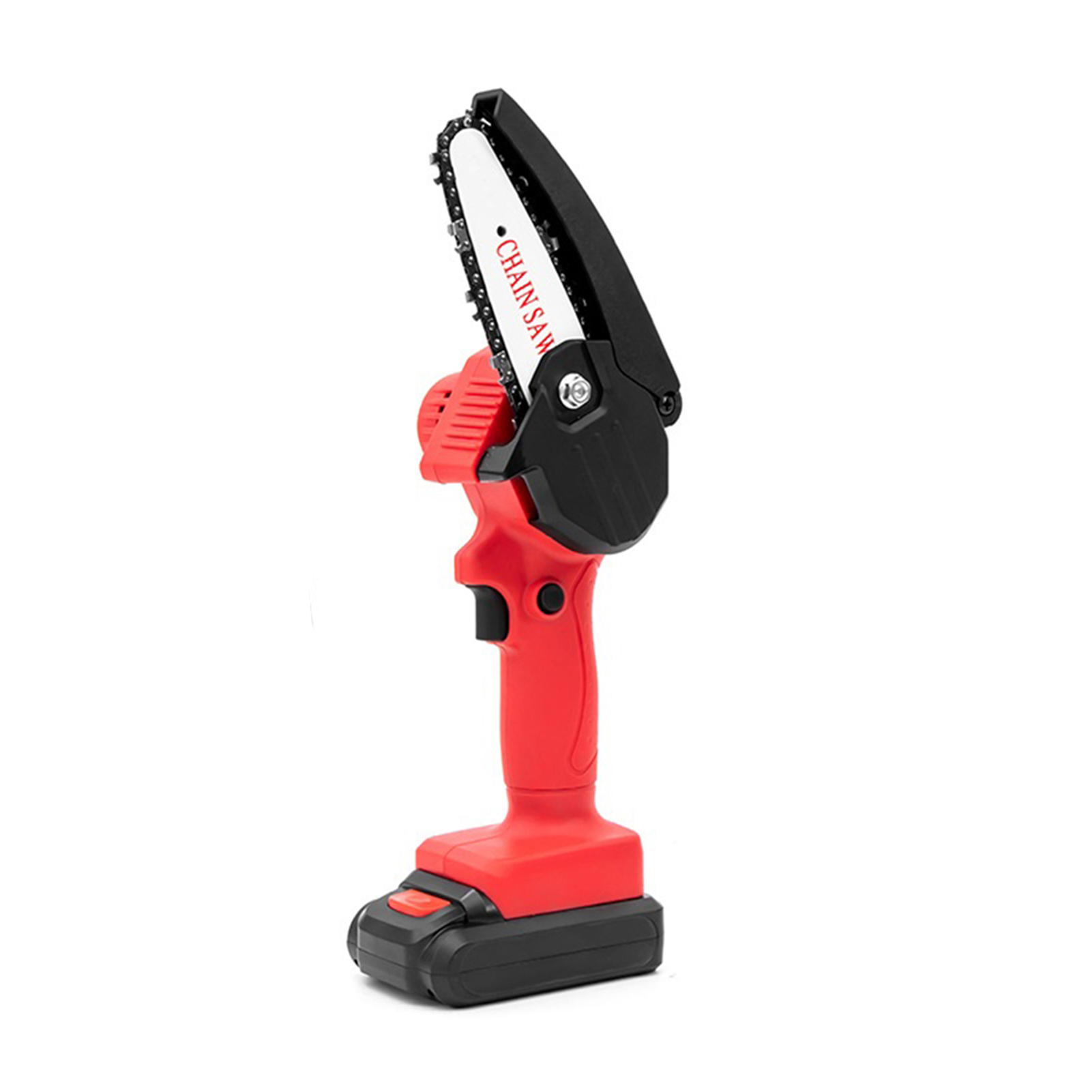 Tools : 220V Rechargeable Handheld Portable Electric Pruning Saw Cordless Mini Chainsaw Small Wood Splitting Chainsaw