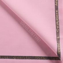 Wool-Fabric with 3-% Lycra Twill-Style Pink-Color Worsted Custom Tailor-Suitings 50%Wool