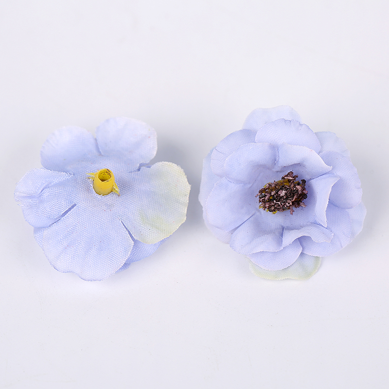 100 Pcs/3cm Multicolor Mini Daisy Silk Artificial Flower DIY Party Christmas Wreath Home Wedding Decoration Artificial Flower-4