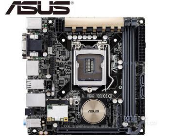 mainboard Asus Z97I-PLUS USED Desktop Motherboard LGA 1150  DDR3 SATA3 USB3.0