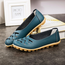 Women Flats Casual Loafers High Quality Shoes Woman Genuine Cow Leather Shoes Ladies Fashion Slip-on Non-slip Female Sneakers beau genuine cow leather loafer shoes women new fashion bowknot fur wool lining slip on casual flats 27807