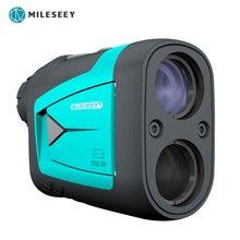 Mileseey pf210 pf3s 골프 레이저 거리 측정기 망원경 레이저 거리 측정기 600m 레이저 거리 측정기 6x monocular golf hunting