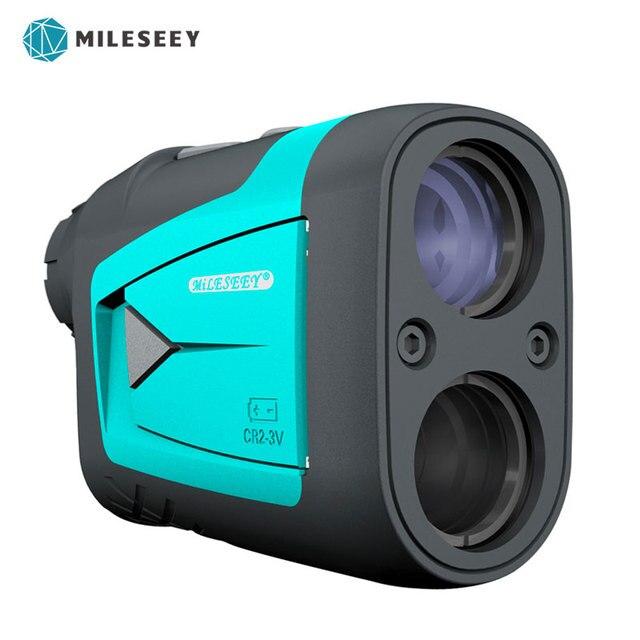 Mileseey pf210 pf3s telescópio a laser, telescópio a laser medidor de distância 6x rangefinder monocular a laser para golfe, caça, 600m