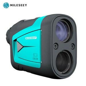 Image 1 - Mileseey télémètre télescope Laser 600m distancemètre Laser 6X monoculaire Golf chasse PF210 PF3S