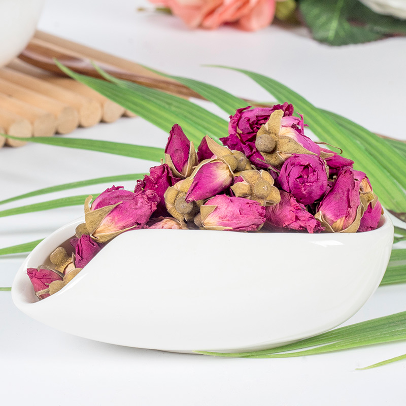 Flower Tea Rose Tea Pingyin Rose Bud Bud Flower Bud Dry-brewed Tea Beauty and Beauty Tea 100g 1